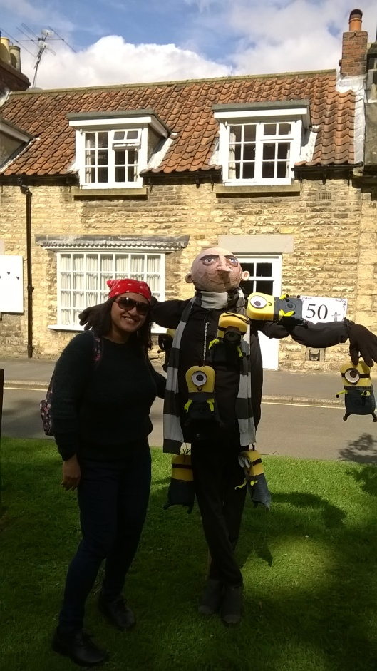 The winner of the Scarecrow Festival